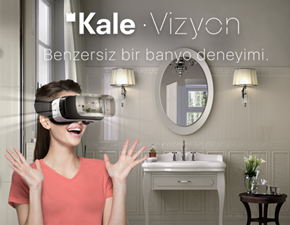 Kale Vizyon ile şimdi hayalinizdeki banyo gözle görebileceğiniz, dokunabileceğiniz kadar yakın!